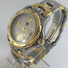 ee194c444fa3 Gents Tag Heuer Links Professional Two Tone Watch - Pre-Owned. Michaels  Online