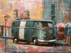 VW Combi en una ciudad preciosa... Tegucigalpa