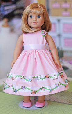 Olabelhe dress for doll. Check website has adorable dress to match for little girl.