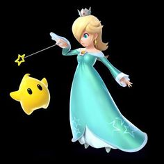 in such a small amount of time rosalina has become one of the most iconic nintendo characters its not that hard to see why