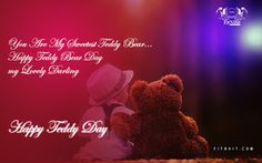 teddy bear day wishes for girlfriend