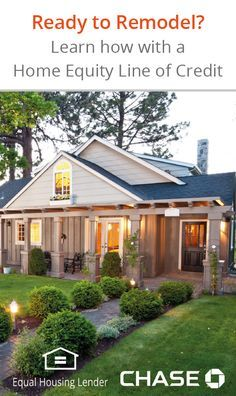 Does your house need a refresh? Whether it's simply adding some color or creating a fun outdoor living space, determine your budget and find out if using your home's equity is the right option for you and how to apply.