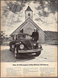 Volkswagen ad - Father Bittman
