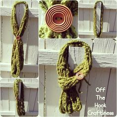 Infinity Scarf https://www.facebook.com/OffTheHookCraftiness
