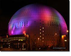 The globe building in Stockholm