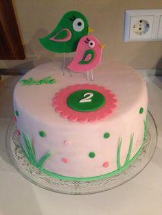 Geburtstagstorte zum 2 Geburtstag