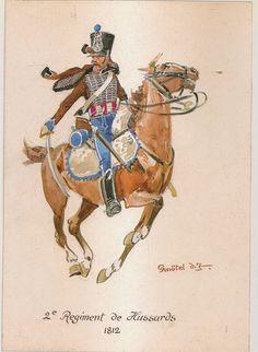 2ème Régiment de Hussards 1812