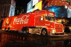 The Coca-Cola truck will roll into Glasgow on November 24 Coca Cola Christmas, Christmas Truck, Christmas Time, Coca Cola Pictures, Scottish News, Pepsi Cola, Energy Drinks, Trucks, Glasgow