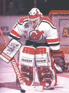 New Jersey Devils goaltending history : Craig Billington Rangers Hockey, Hockey Goalie, Ice Hockey, Hockey Room, Goalie Mask, Pittsburgh Penguins Hockey, New Jersey Devils, Hockey Girls, National Hockey League