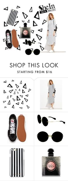 """She is in"" by zeineb2108 ❤ liked on Polyvore featuring Nika, Vans, Miu Miu, MICHAEL Michael Kors and Yves Saint Laurent"