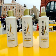Don't be caught running around the city without your hair in supreme condition.