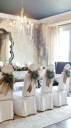 ***Dinning Room - Décor Christmas - Elegant***