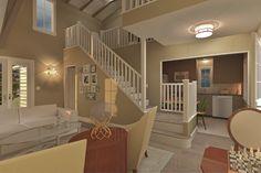Cottage Style House Plan - 3 Beds 2 Baths 983 Sq/Ft Plan #489-5 Photo - Houseplans.com