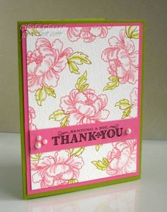 This is one of two cards I made for the April PTI Blog Hop which was an inspiration photo challenge.  I used distress inks on watercolor paper and pulled some color with a water pen.  You can see a close-up pic and get more details on this [url=http://flowerfoot.blogspot.com/2012/04/pti-april-inspiration-blog-hop.html]BLOG POST[/url] if you're interested.  TFL!