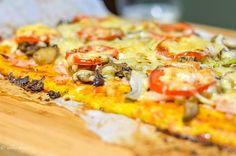 "zdrave-dobroty | Cuketovo-syrové ""cesto"" na pizzu alebo fašírky"