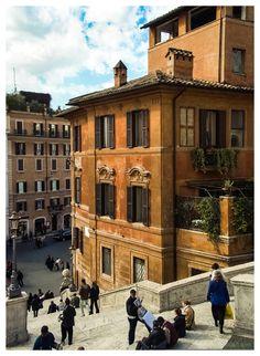 """""""Terracotta""""  Piazza di Spagna, Rome, Italy 2008"""