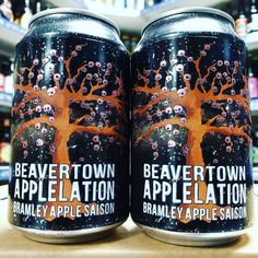 Applelation - 8.7% Bramley Apple Saison from @beavertownbeer available now