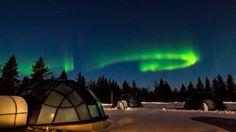 Naturschauspiel Nordlichter: Von Ende August bis Ende April tauchen Aurora...