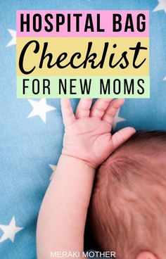 The Ultimate Checklist for Diaper Bag Essentials for Hospital - Meraki Mother Birth Hospital Bag, Packing Hospital Bag, Hospital Bag For Mom To Be, Hospital Bag Essentials, Diaper Bag Essentials, Hospital Bag Checklist, Pregnancy Workout, Pregnancy Tips, Gentle Parenting
