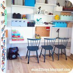 Mum 2 2 boys: Skrivebord med plads til leg og lektier...