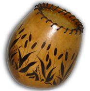 Gourd Art Creations by Sylvia Marson
