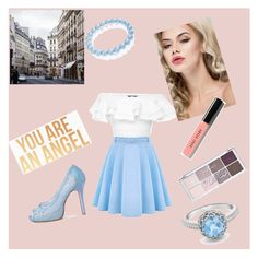 """Untitled #37"" by zysel on Polyvore featuring WithChic, Alexander McQueen, Dogeared, London Road, Bling Jewelry, Bobbi Brown Cosmetics, women's clothing, women, female and woman"