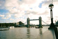 Thames River and Tower Bridge