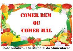 Comer bem ou comer mal - Canção para o Dia Mundial da Alimentação (16 de...