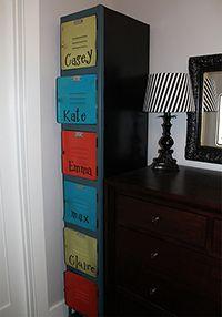 What a great idea! Old school locker repurposed into a labeled shoe locker. Locker Furniture, Furniture Makeover, Diy Furniture, Locker Designs, Closet Designs, Preschool Classroom Themes, Monochrome Interior, Metal Lockers, School Lockers