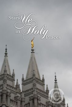 Stand Ye in Holy Places 11x17 Fine Art Print. $30.00, via Etsy.