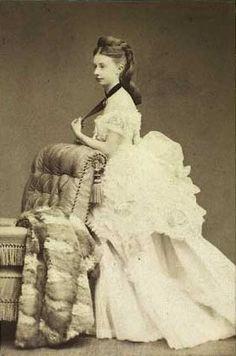 Louise Emilie Cathrine Grevenkop-Castenskiold (1853-1935), Danish noblewoman, at the court of Queen Alexandrine of Denmark.