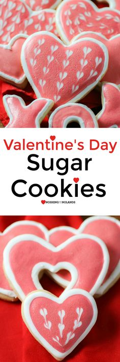 Valentine's Day Sugar Cookies by Noshing With The Nolands are a fun and delicious way to spread the love!