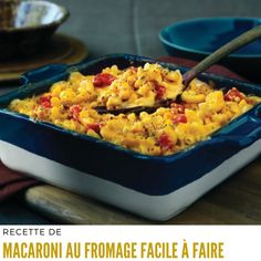 Easy Macaroni and Cheese (Cheddar Cheese Soup) Chili Mac And Cheese, Easy Mac And Cheese, Cheddar Cheese Soup, Beer Cheese Soups, Cheese Dishes, Macaroni Cheese, Cheese Recipes, Pasta Dishes, Pasta Recipes