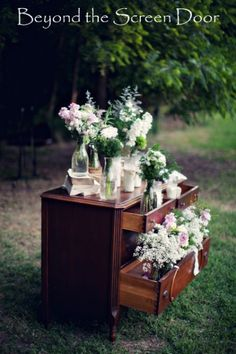 Vintage Wedding Ceremony | Beyond the Screen Door