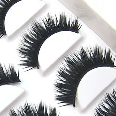 NEW XM04 6 Pairs Natural Thick Cross Party False Eyelashes beauty Lashes HOT Eye Lashes * Click image for more details.