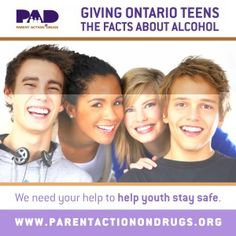 LCBO stores raise funds for Parent Action on Drugs (PAD)