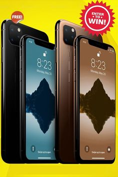 Get the Newly Released iPhone 11 Pro in Multiple Colors & Storage Options. Win Your iPhone 11 Pro Today Get Free Iphone, Iphone 10, Iphone Cases, Iphone Reviews, Free Iphone Giveaway, Ios, Apple Smartphone, Simple Signs, Technology