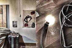 Grey Wool light by Méchant Studio