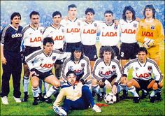 Colo Colo of Chile team group in Football Icon, Football Players, Hugo Gonzalez, Nhl, My Eyes, Champion, Soccer, Baseball Cards, Comics