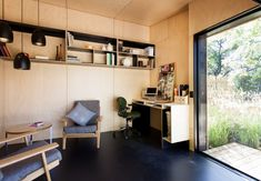The prefab Backyard Room by Archiblox of  Australia | Gardenista