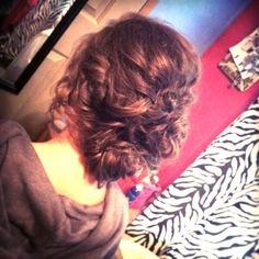Prom updo Homecoming Updo, Prom Updo, Updos, Dreadlocks, Hair Styles, Beauty, Up Dos, Hair Plait Styles, Hair Makeup