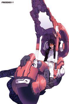 "shred: ""Pin by Shungo Fujii on Cyberpunk Arte Sci Fi, Sci Fi Art, Character Concept, Character Art, Concept Art, Akira, Image Moto, Arte Cyberpunk, Mekka"