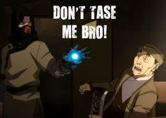 """The Legend of Korra: """"I am currently wetting my pants!"""""""