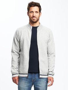 Classic Fleece Track Jacket for Men
