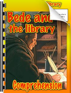 A story about the Venerable Bede, the Anglo-Saxon monk in Northumberland who wrote out manuscripts and preserved Anglo-Saxon writings for posterity Ks2 Classroom, Anglo Saxon History, Writings, Homework, Geography, Curriculum, Literature, England, Teaching