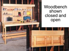 DIY Small Workbench Plans   Woodworking Session