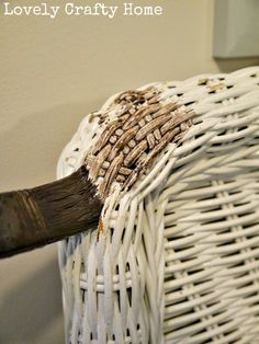 » Rachael and Restoration: Grey Washed Wicker