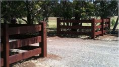 G-T-Post and Rail Fencing   Gippsland Treated Pine