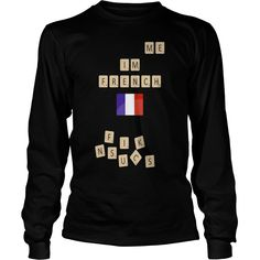 Scrabble me Im French - Black version - Kids Long Sleeve T-Shirt  #gift #ideas #Popular #Everything #Videos #Shop #Animals #pets #Architecture #Art #Cars #motorcycles #Celebrities #DIY #crafts #Design #Education #Entertainment #Food #drink #Gardening #Geek #Hair #beauty #Health #fitness #History #Holidays #events #Home decor #Humor #Illustrations #posters #Kids #parenting #Men #Outdoors #Photography #Products #Quotes #Science #nature #Sports #Tattoos #Technology #Travel #Weddings #Women