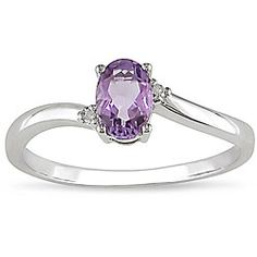 cool amethyst ring